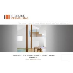 INTERIORES MINIMALISTAS(House in Ohue)